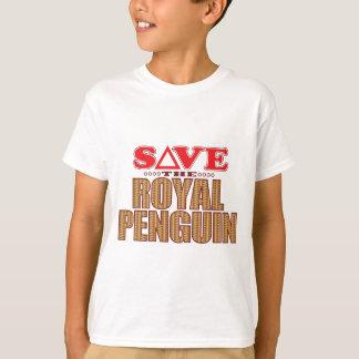 Royal Penguin Save T-Shirt
