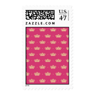Royal Pink Crown Postage