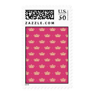 Royal Pink Crown Postage