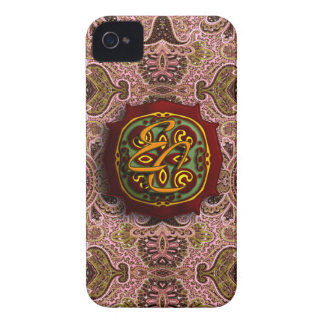 Royal Pink Paisley iPhone 4 Case