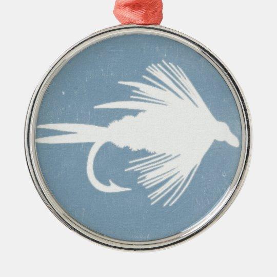 Royal Plonker Fly Metal Ornament