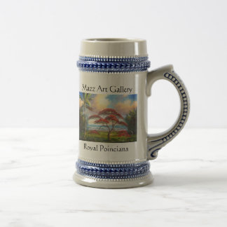 Royal Poinciana Beer Stein