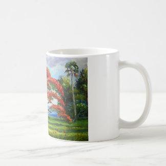 Royal Poinciana Tree Mazz Coffee Mug