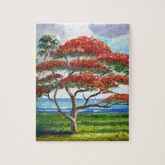 Royal Poinciana Tree Mazz Jigsaw Puzzles