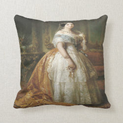 Royal Portraits Series No 1 Pillow Throw