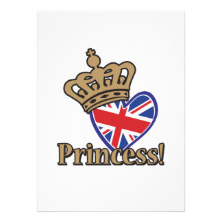 Royal Pricess Personalized Invitations