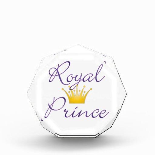 Royal Prince Acrylic Award