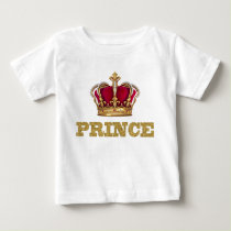 Royal Prince Baby Boy Baby T-Shirt