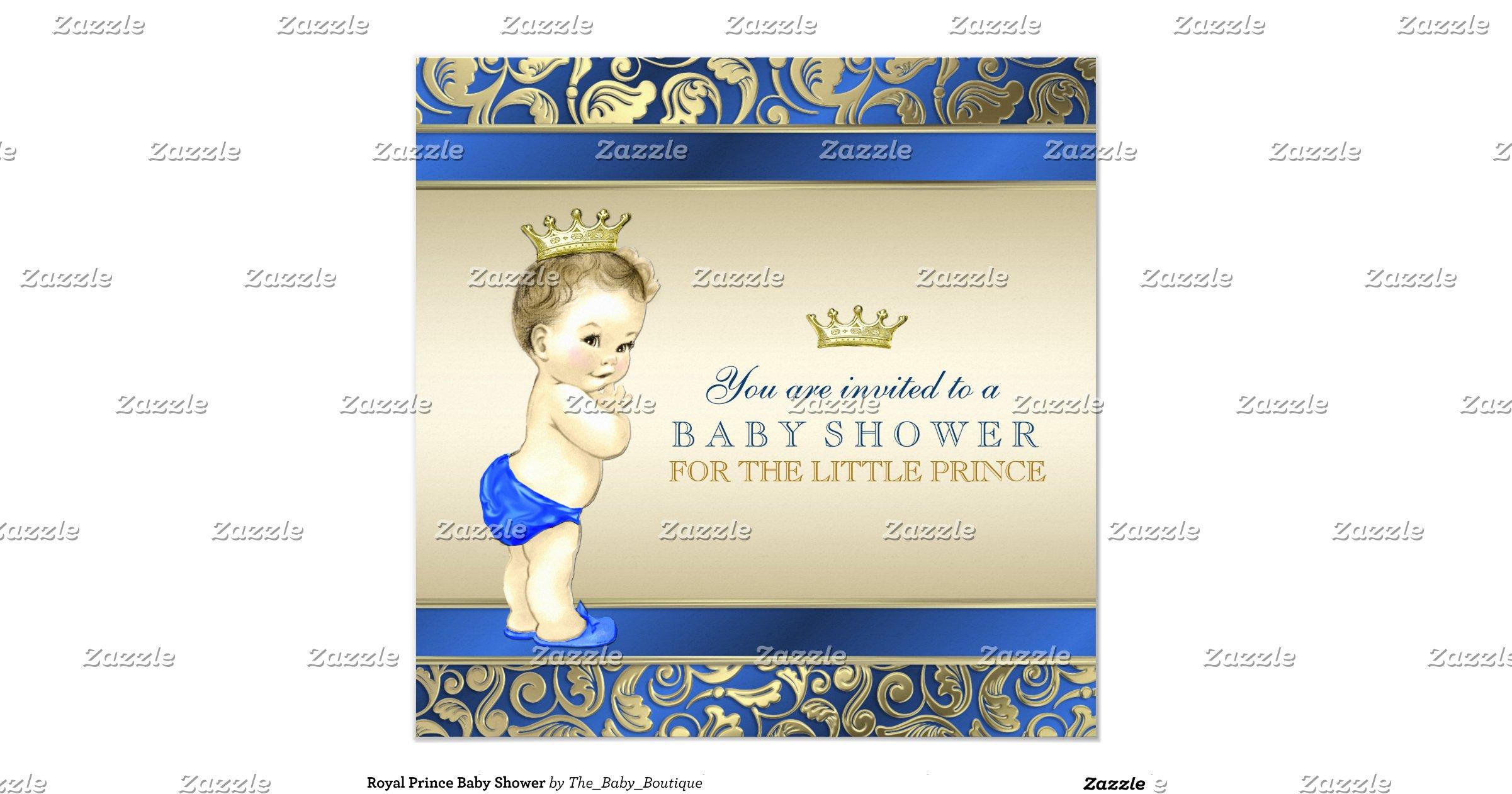 royal prince baby shower invitation r450d2d23c0da4edeb2a7e6ec97bbce39
