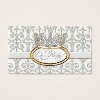 Royal Prince Princess Crown Baby Shower Favor Tags