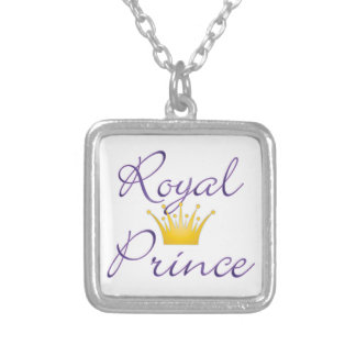 Royal Prince Silver Plated Necklace