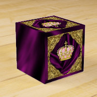 Royal Princess Baby Shower Favor Box