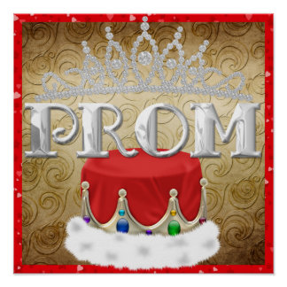 Royal PROM Poster - SRF