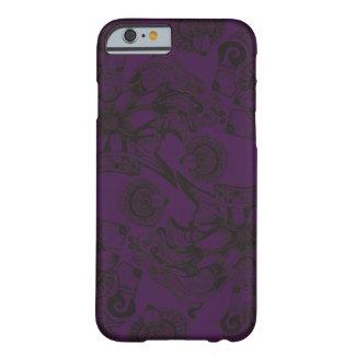 Royal Purple and Black Flower of Wisdom