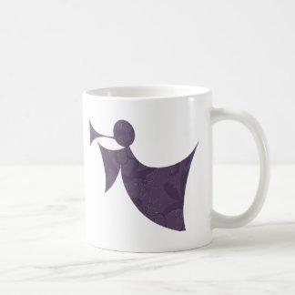 Royal Purple Angel - Coffee Cup