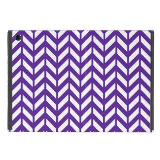 Royal Purple Chevron 4 Cases For iPad Mini