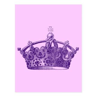 Royal Purple Crown Postcard