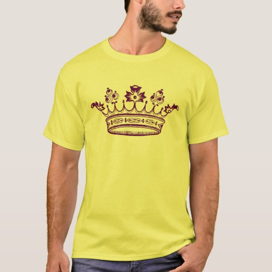 Royal Purple Crown T-Shirt