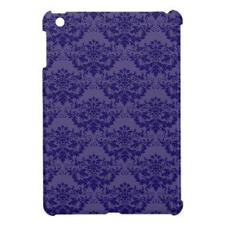 Royal Purple Damask Pattern Case For The iPad Mini