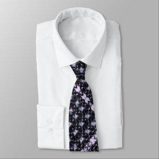 Royal Purple Fractal Neck Tie