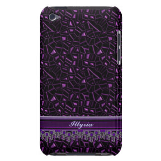 Royal Purple Glitter personalized iPod Case