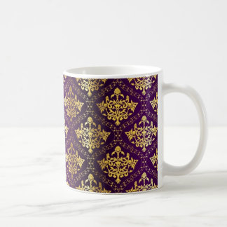 Royal Purple & Gold Mug