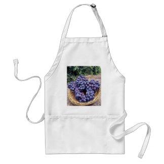 Royal Purple Grapes Adult Apron