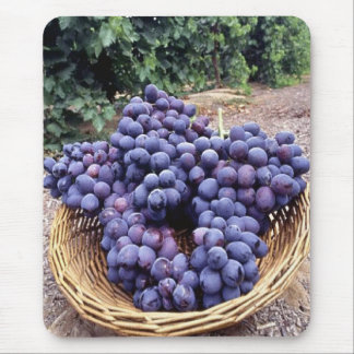Royal Purple Grapes Mouse Pad