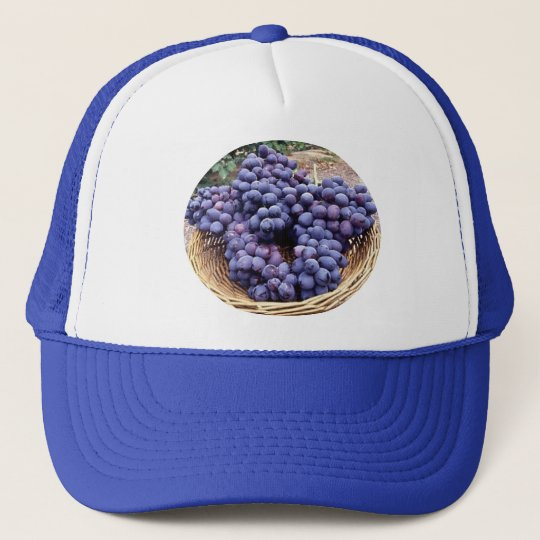 Royal Purple Grapes Trucker Hat