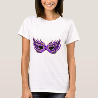 Royal purple masquerade mask T-Shirt