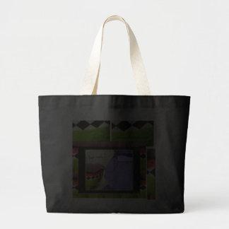 Royal Purple Tea Cozy Large Tote Bag