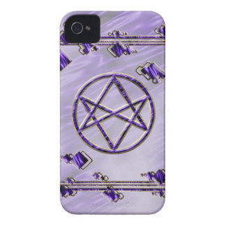 Royal Purple Unicursal iPhone 4 Case-Mate Case