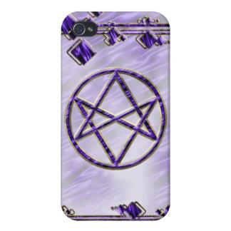 Royal Purple Unicursal Cases For iPhone 4