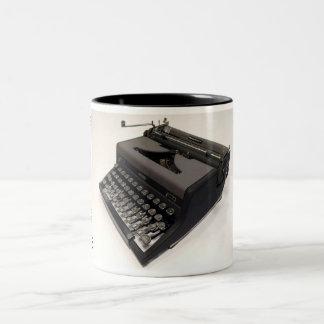 Royal Quiet De Luxe - máquina de escribir de Taza Dos Tonos