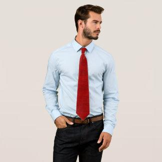 Royal Red Armani Pastel Paper Satin Necktie