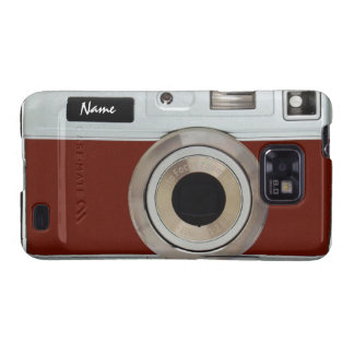 Royal Red Camera Case Samsung Galaxy S Case