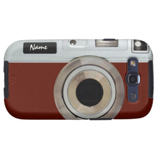Royal Red Camera Case Galaxy S3 Cases