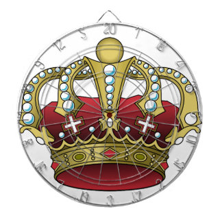 Royal Red Crown Dartboard