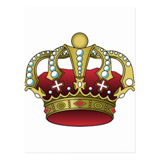 Royal Red Crown Postcard