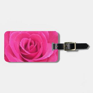 Royal Red Rose Bag Tag