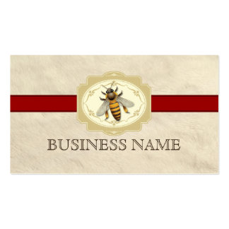 Beekeeping business cards templates zazzle for Bee business cards