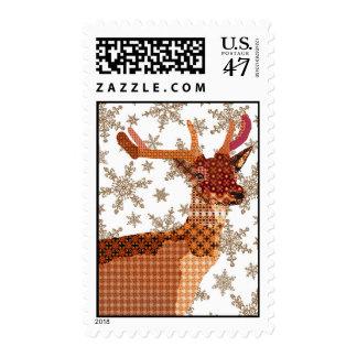 Royal Reindeer Snowflake Stamps