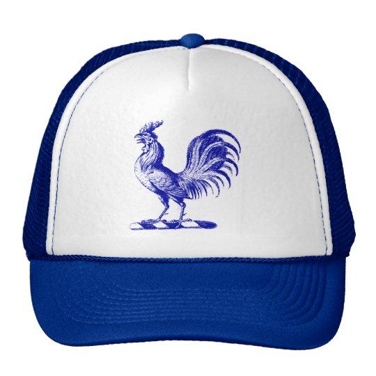 Royal Rooster Blue Trucker Hat