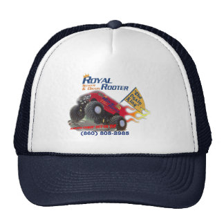 Royal Rooter Customer Appreciation Caps w/Phone
