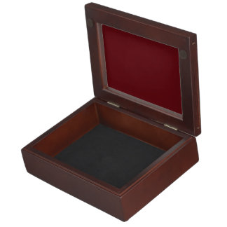 Royal Rose Red in an English Country Garden Memory Box