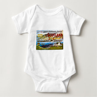 Royal Route of Scotland Summer Tours Vintage Baby Bodysuit