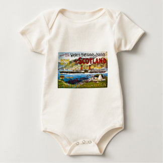 Royal Route of Scotland Summer Tours Vintage Baby Bodysuit