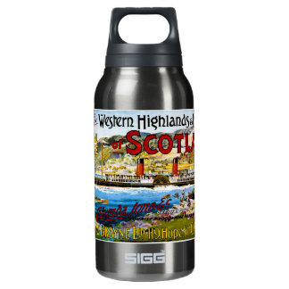 Royal Route of Scotland Summer Tours Vintage Insulated Water Bottle