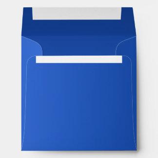 Royal Sapphire Blue Envelope