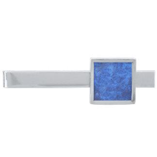 Royal Sapphire Blue  Modern Tie Bar